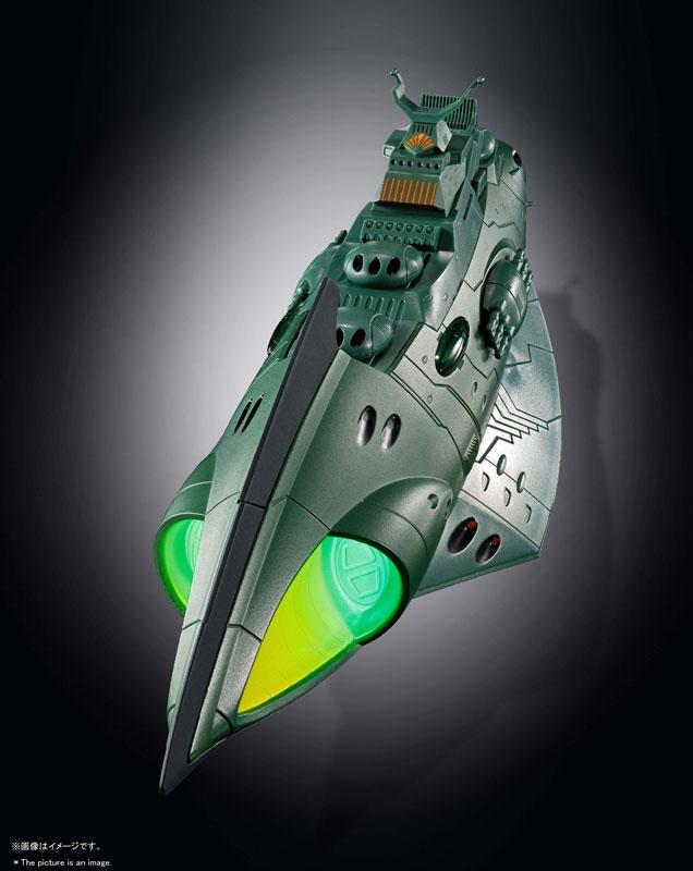 超合金魂『GX-89 ガミラス航宙装甲艦』完成品モデル-002