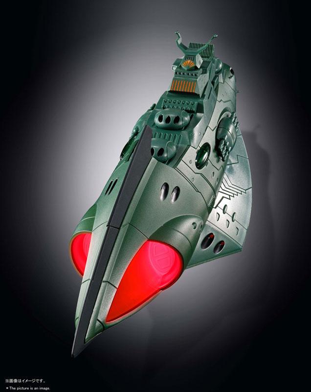 超合金魂『GX-89 ガミラス航宙装甲艦』完成品モデル-004