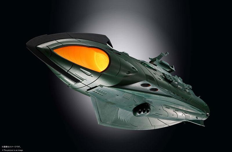 超合金魂『GX-89 ガミラス航宙装甲艦』完成品モデル-008