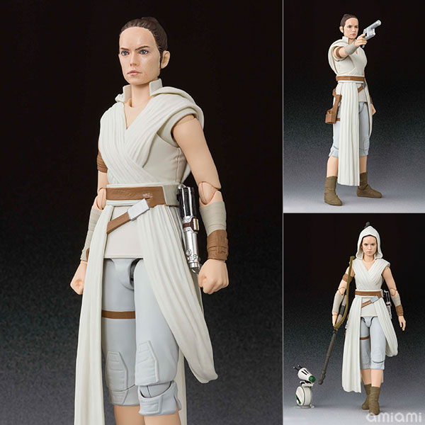 S.H.Figuarts『レイ & D-O(STAR WARS: The Rise of Skywalker)』スター・ウォーズ 可動フィギュア