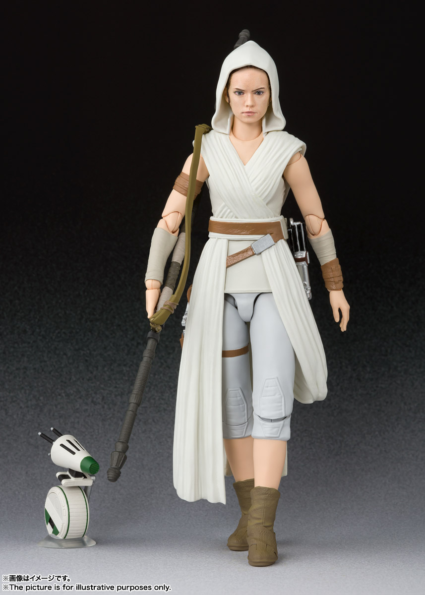 S.H.Figuarts『レイ & D-O(STAR WARS: The Rise of Skywalker)』スター・ウォーズ 可動フィギュア-001