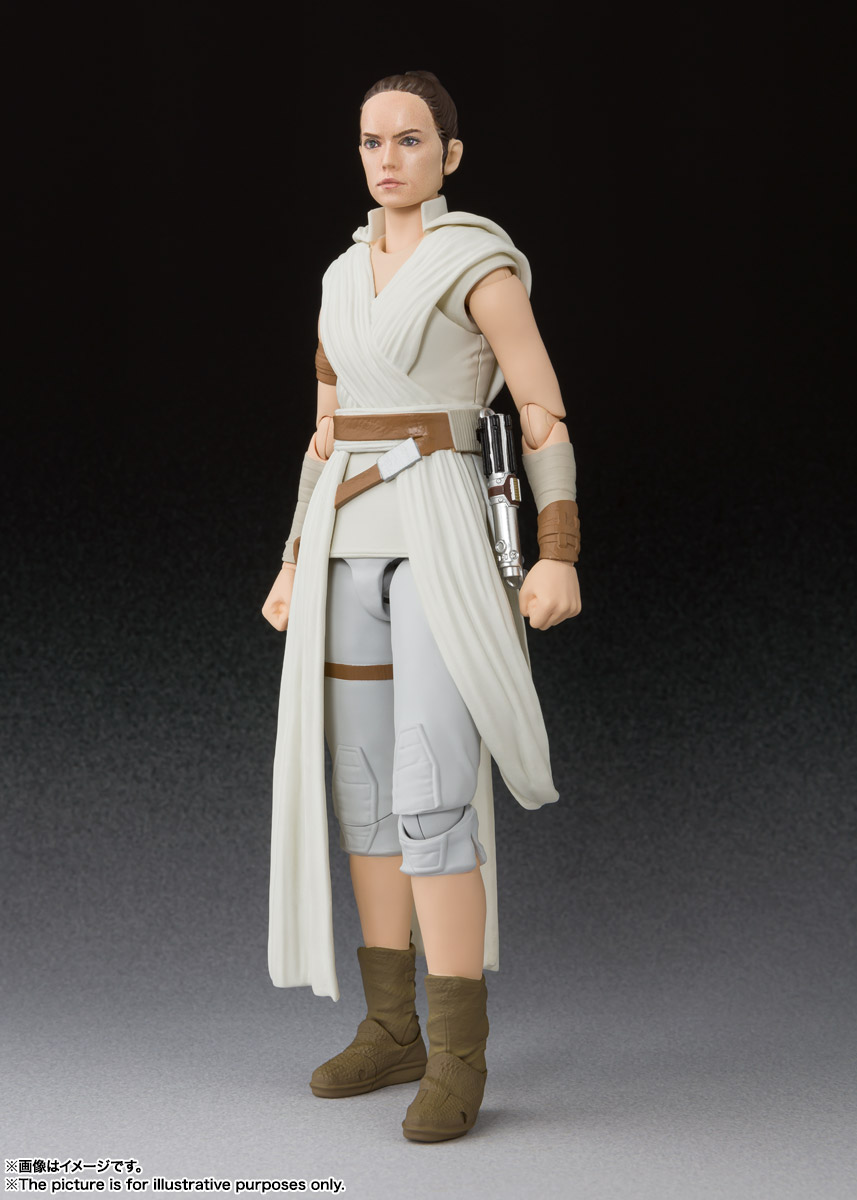 S.H.Figuarts『レイ & D-O(STAR WARS: The Rise of Skywalker)』スター・ウォーズ 可動フィギュア-002