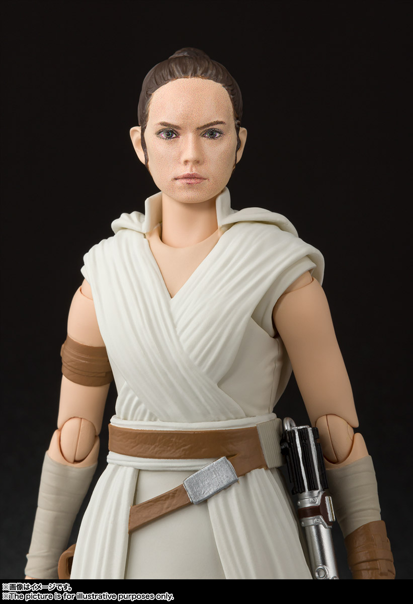 S.H.Figuarts『レイ & D-O(STAR WARS: The Rise of Skywalker)』スター・ウォーズ 可動フィギュア-004