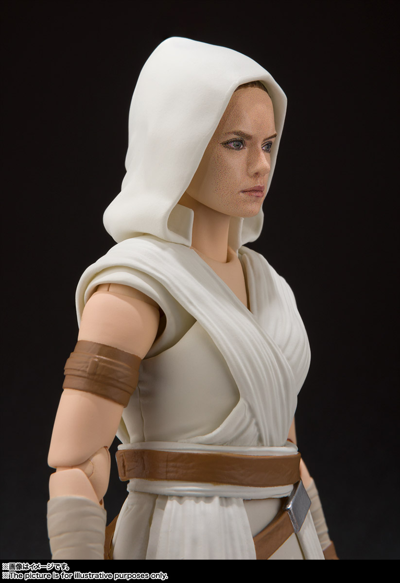 S.H.Figuarts『レイ & D-O(STAR WARS: The Rise of Skywalker)』スター・ウォーズ 可動フィギュア-005