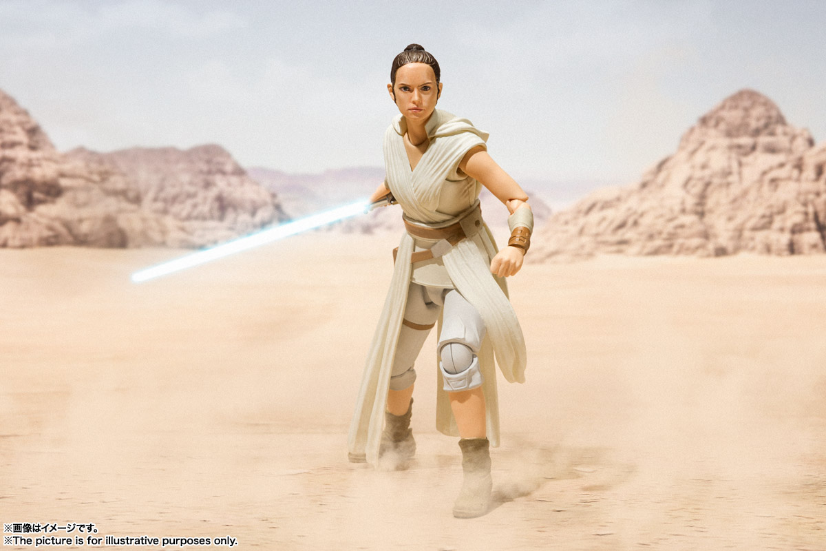 S.H.Figuarts『レイ & D-O(STAR WARS: The Rise of Skywalker)』スター・ウォーズ 可動フィギュア-009