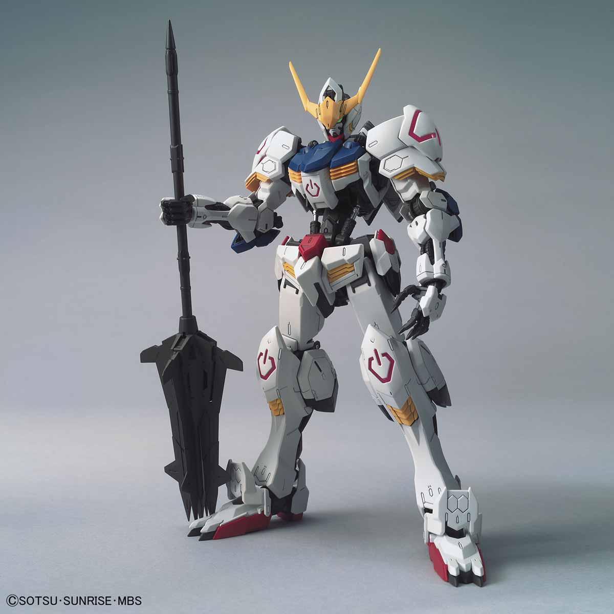 MG 1/100『ガンダムバルバトス』鉄血のオルフェンズ プラモデル-002