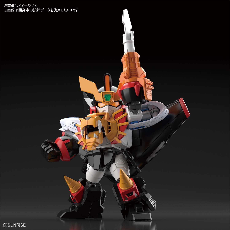 SDクロスシルエット『ガオガイガー』勇者王ガオガイガー プラモデル-001
