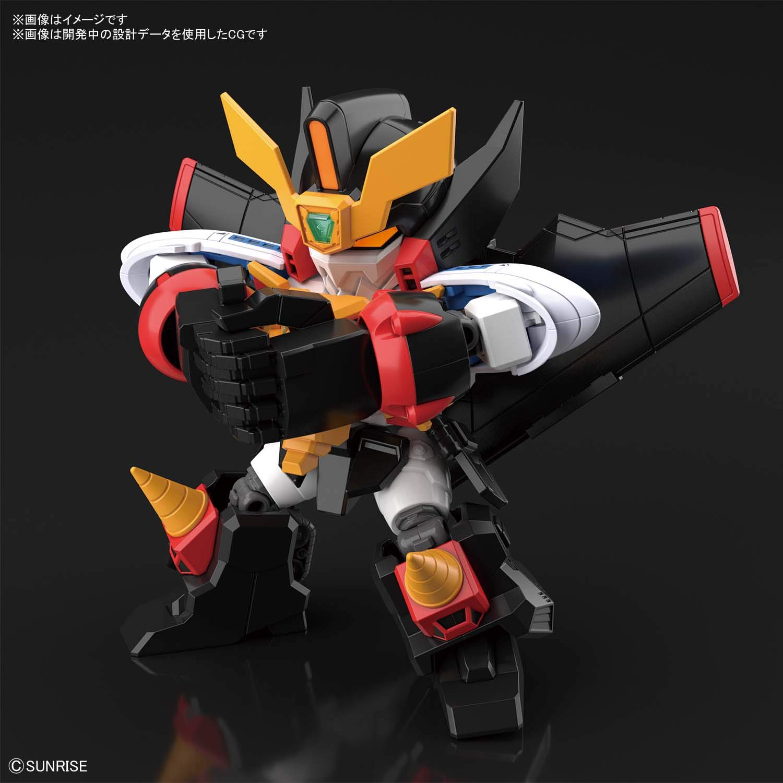 SDクロスシルエット『ガオガイガー』勇者王ガオガイガー プラモデル-002