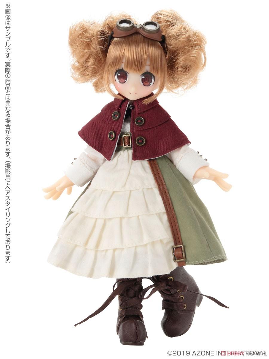 Lil'Fairy ~ちいさな ちいさなお手伝いさん~『もじゃネイリー』1/12 完成品ドール-002