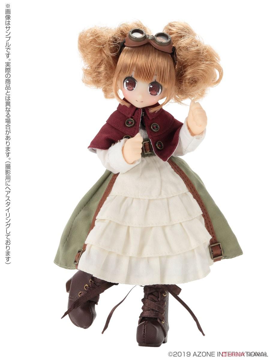 Lil'Fairy ~ちいさな ちいさなお手伝いさん~『もじゃネイリー』1/12 完成品ドール-003