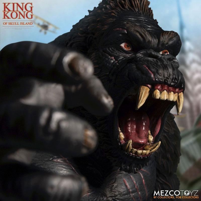 アルティメット 18インチ『キング・コング スカル・アイランド』可動フィギュア-009