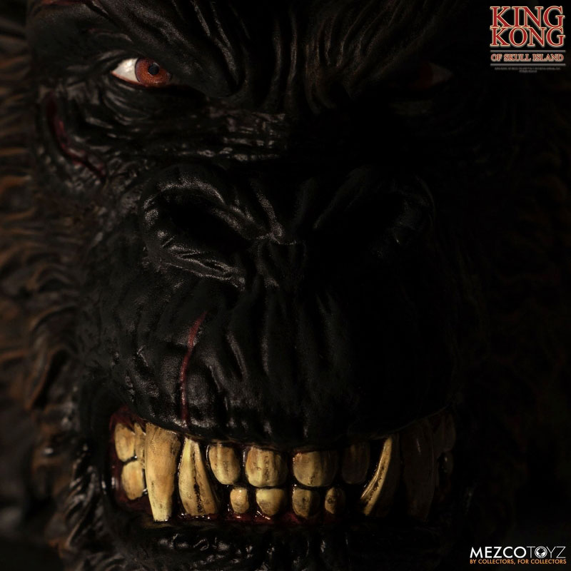 アルティメット 18インチ『キング・コング スカル・アイランド』可動フィギュア-011