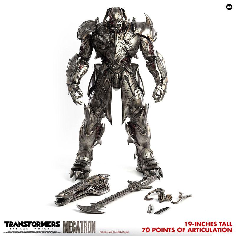 トランスフォーマー/最後の騎士王『MEGATRON(メガトロン)』可動フィギュア-001