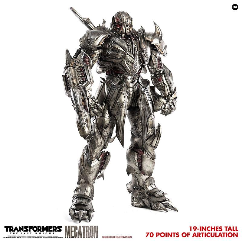 トランスフォーマー/最後の騎士王『MEGATRON(メガトロン)』可動フィギュア-002