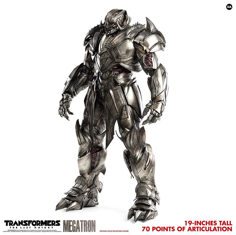 トランスフォーマー/最後の騎士王『MEGATRON(メガトロン)』可動フィギュア-004