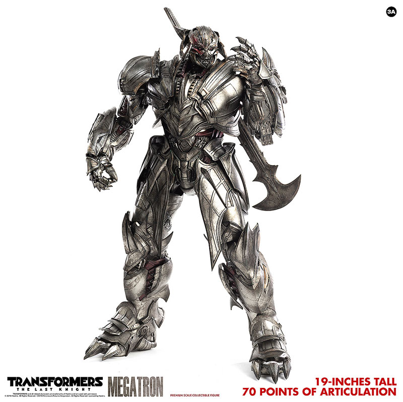 トランスフォーマー/最後の騎士王『MEGATRON(メガトロン)』可動フィギュア-005