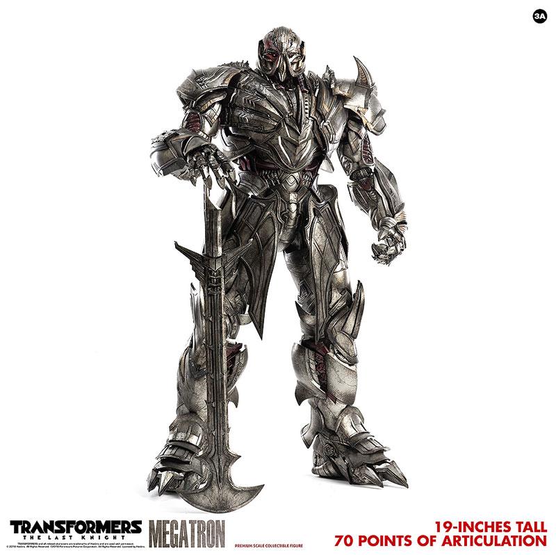 トランスフォーマー/最後の騎士王『MEGATRON(メガトロン)』可動フィギュア-006