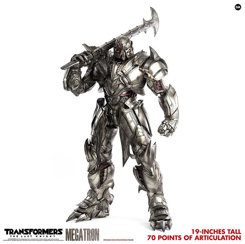 トランスフォーマー/最後の騎士王『MEGATRON(メガトロン)』可動フィギュア-007