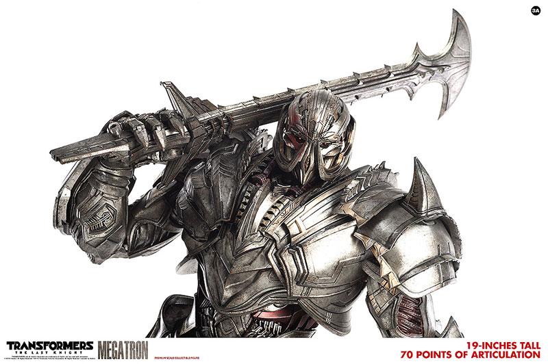 トランスフォーマー/最後の騎士王『MEGATRON(メガトロン)』可動フィギュア-008