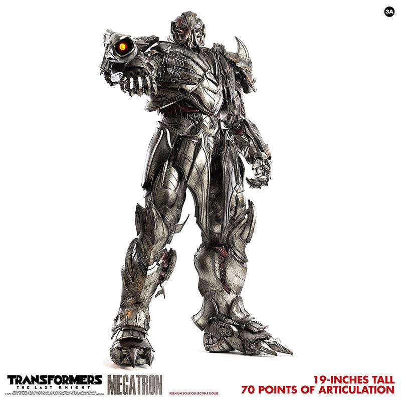 トランスフォーマー/最後の騎士王『MEGATRON(メガトロン)』可動フィギュア-009