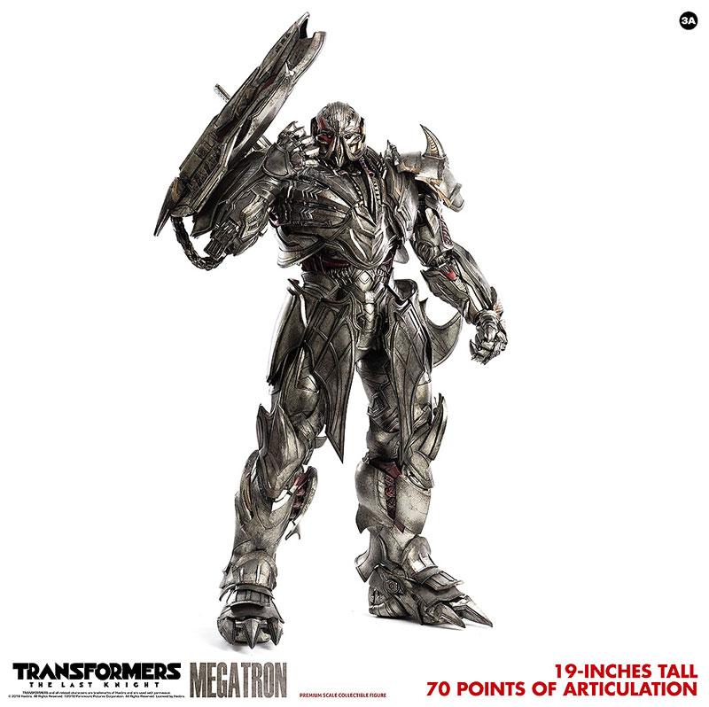 トランスフォーマー/最後の騎士王『MEGATRON(メガトロン)』可動フィギュア-010