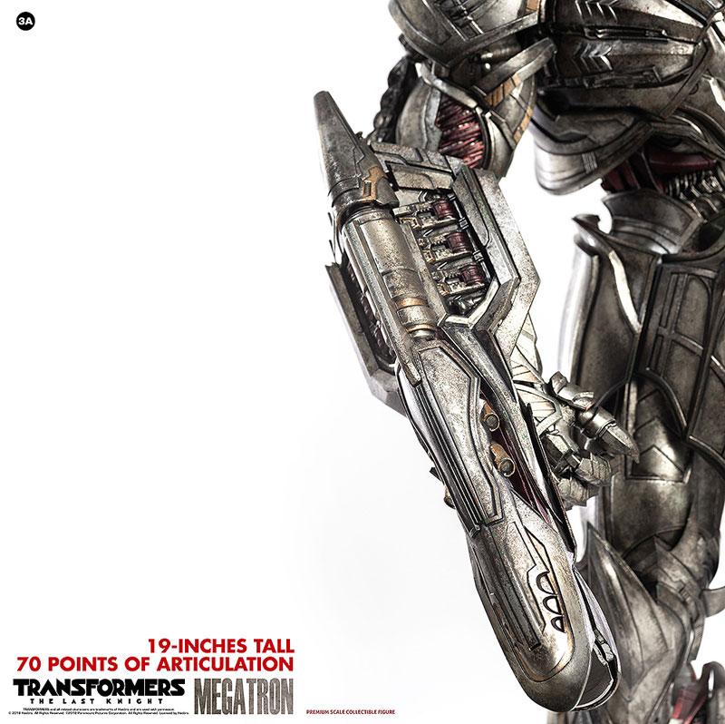 トランスフォーマー/最後の騎士王『MEGATRON(メガトロン)』可動フィギュア-011