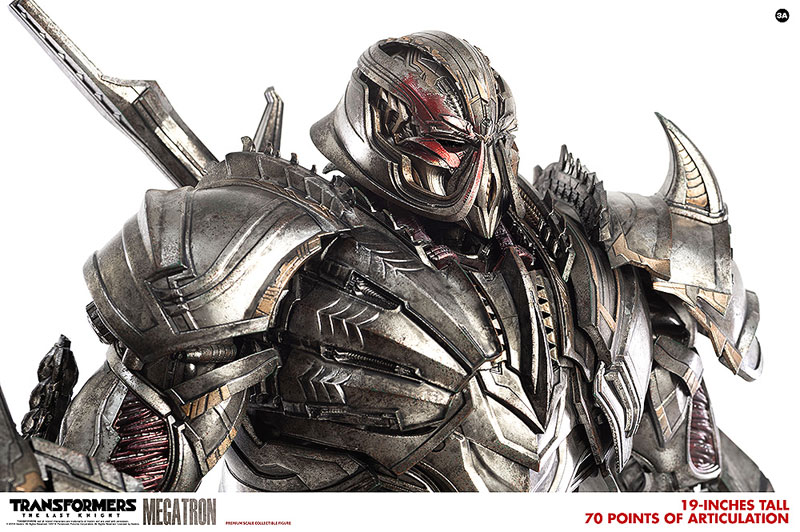 トランスフォーマー/最後の騎士王『MEGATRON(メガトロン)』可動フィギュア-012