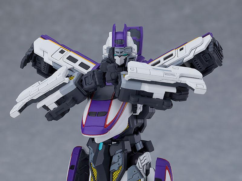 MODEROID『E3つばさ』新幹線変形ロボ シンカリオン プラモデル-004