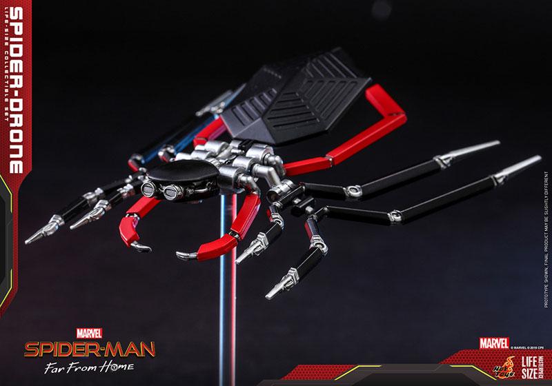 ライフサイズ・マスターピース『スパイダー・ドローン』スパイダーマン:ファー・フロム・ホーム 1/1 レプリカ-002