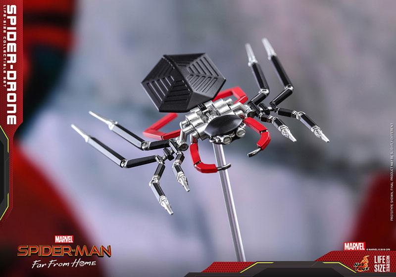 ライフサイズ・マスターピース『スパイダー・ドローン』スパイダーマン:ファー・フロム・ホーム 1/1 レプリカ-005