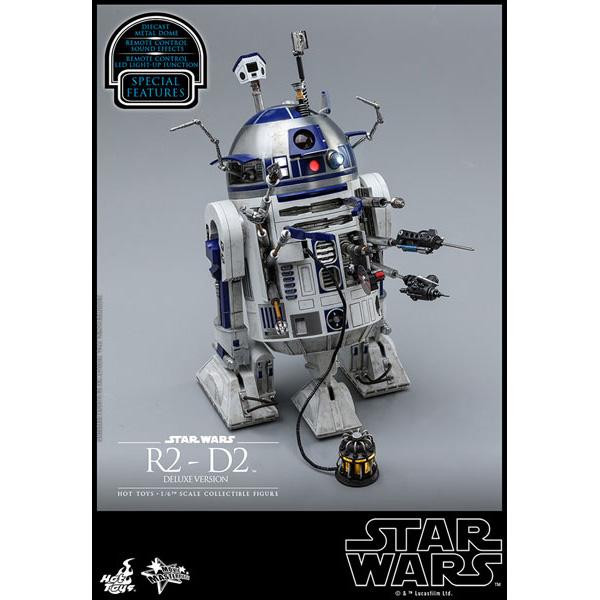 ムービー・マスターピース『R2-D2 デラックス版』1/6 スター・ウォーズ 可動フィギュア
