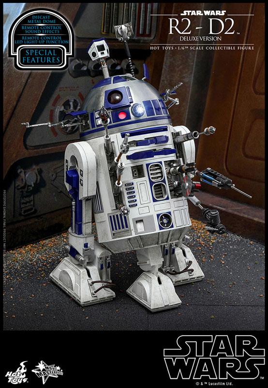 ムービー・マスターピース『R2-D2 デラックス版』1/6 スター・ウォーズ 可動フィギュア-001