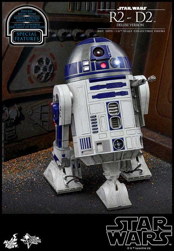 ムービー・マスターピース『R2-D2 デラックス版』1/6 スター・ウォーズ 可動フィギュア-002