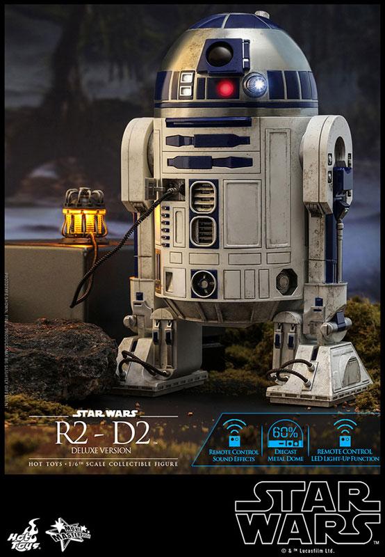 ムービー・マスターピース『R2-D2 デラックス版』1/6 スター・ウォーズ 可動フィギュア-003