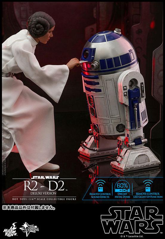 ムービー・マスターピース『R2-D2 デラックス版』1/6 スター・ウォーズ 可動フィギュア-004