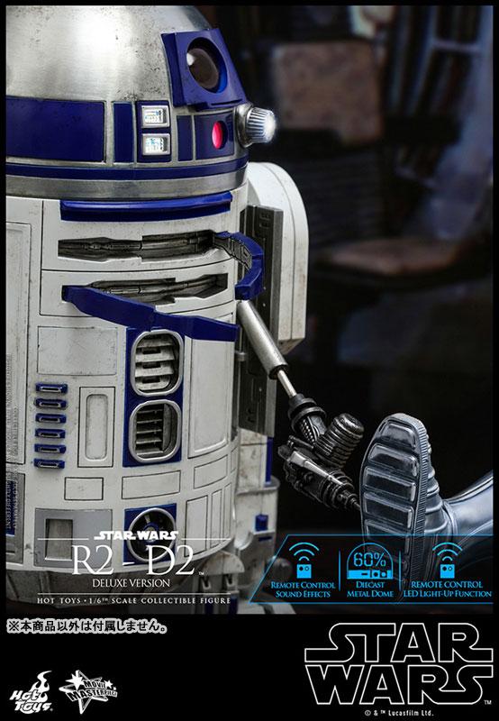 ムービー・マスターピース『R2-D2 デラックス版』1/6 スター・ウォーズ 可動フィギュア-005