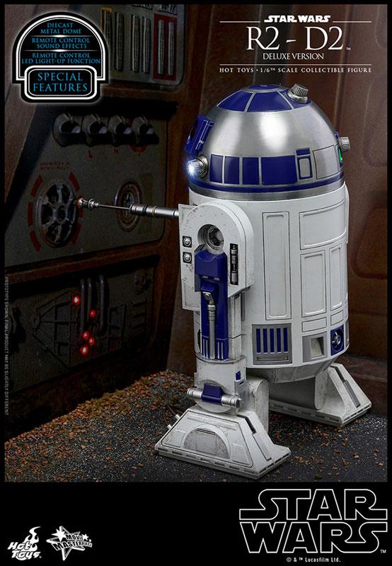ムービー・マスターピース『R2-D2 デラックス版』1/6 スター・ウォーズ 可動フィギュア-006