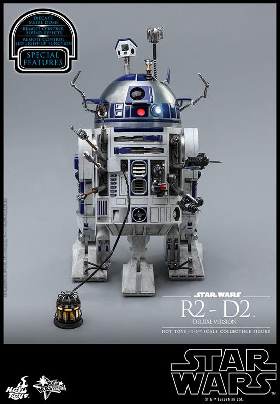 ムービー・マスターピース『R2-D2 デラックス版』1/6 スター・ウォーズ 可動フィギュア-007