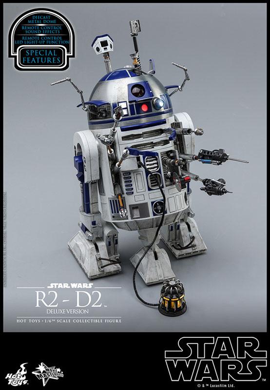 ムービー・マスターピース『R2-D2 デラックス版』1/6 スター・ウォーズ 可動フィギュア-008