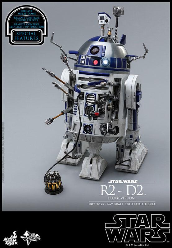 ムービー・マスターピース『R2-D2 デラックス版』1/6 スター・ウォーズ 可動フィギュア-009