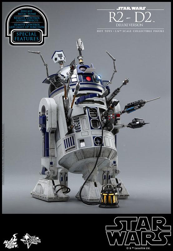 ムービー・マスターピース『R2-D2 デラックス版』1/6 スター・ウォーズ 可動フィギュア-010