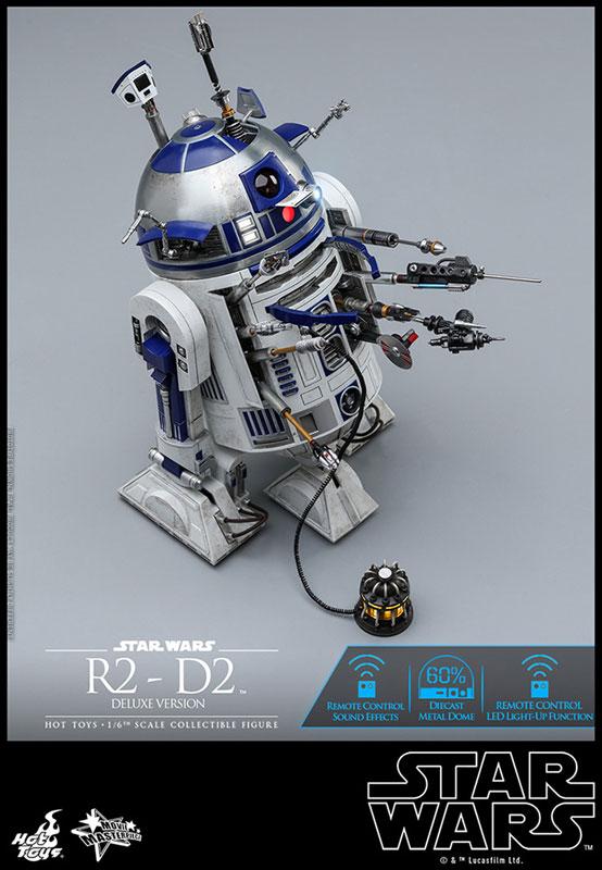 ムービー・マスターピース『R2-D2 デラックス版』1/6 スター・ウォーズ 可動フィギュア-011