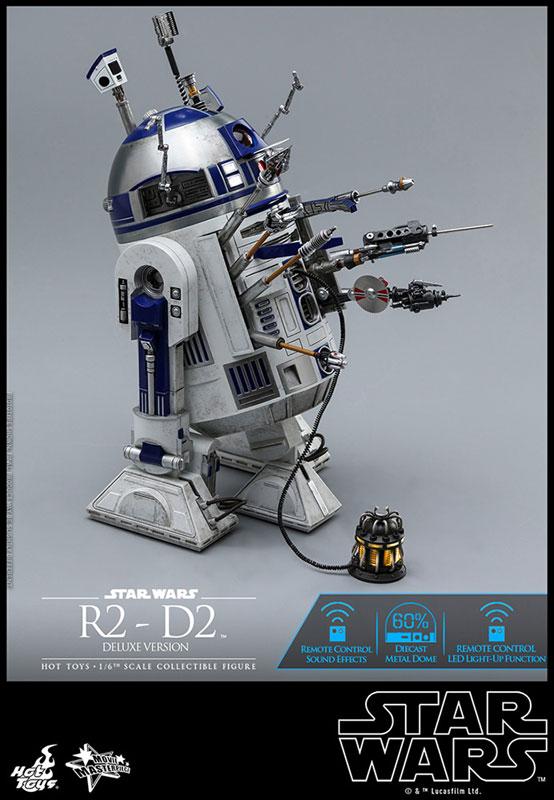 ムービー・マスターピース『R2-D2 デラックス版』1/6 スター・ウォーズ 可動フィギュア-012