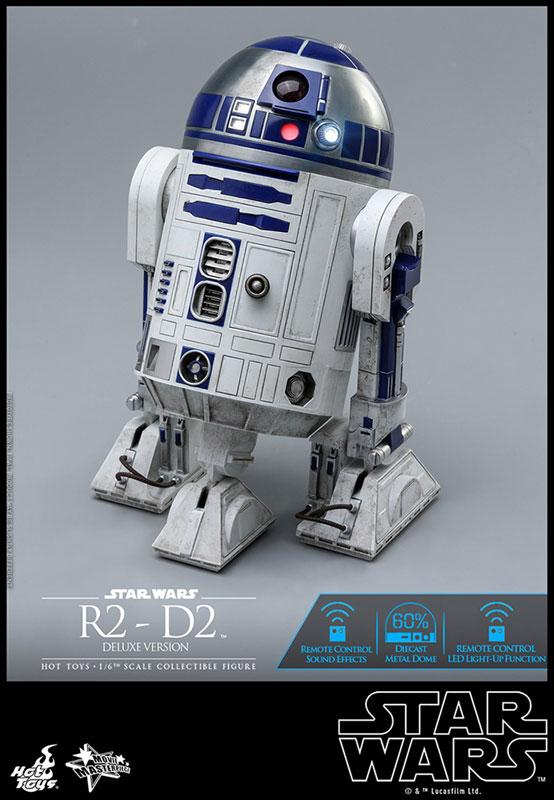 ムービー・マスターピース『R2-D2 デラックス版』1/6 スター・ウォーズ 可動フィギュア-013