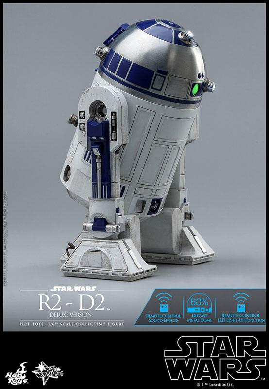 ムービー・マスターピース『R2-D2 デラックス版』1/6 スター・ウォーズ 可動フィギュア-014