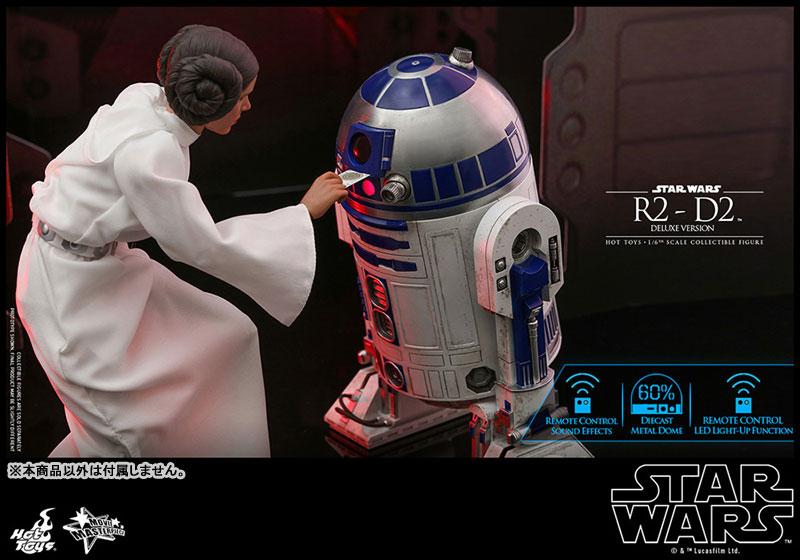 ムービー・マスターピース『R2-D2 デラックス版』1/6 スター・ウォーズ 可動フィギュア-016