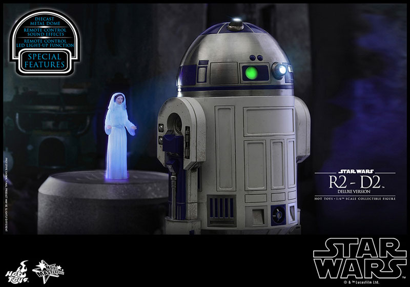ムービー・マスターピース『R2-D2 デラックス版』1/6 スター・ウォーズ 可動フィギュア-018