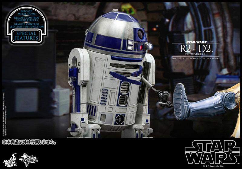 ムービー・マスターピース『R2-D2 デラックス版』1/6 スター・ウォーズ 可動フィギュア-019