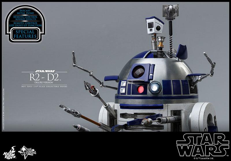 ムービー・マスターピース『R2-D2 デラックス版』1/6 スター・ウォーズ 可動フィギュア-020