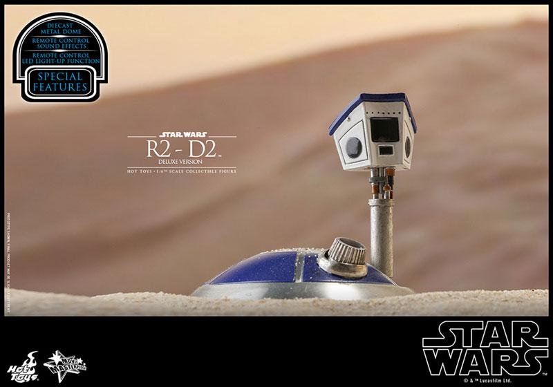 ムービー・マスターピース『R2-D2 デラックス版』1/6 スター・ウォーズ 可動フィギュア-021